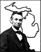 Abraham Lincoln and Michigan